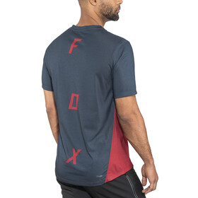 Fox Indicator Asym SS Jersey Men cardinal